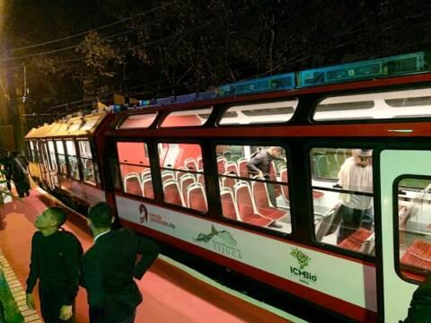 Os novos trens do Corcovado