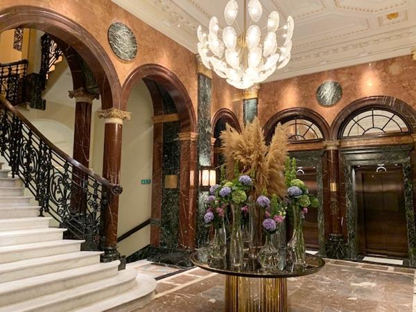 renovado Mandarin Oriental Londres - lobby
