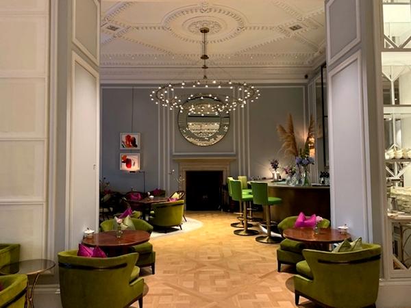 renovado Mandarin Oriental Londres - salão de chá