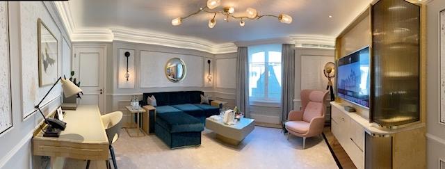 renovado Mandarin Oriental Londres - quarto