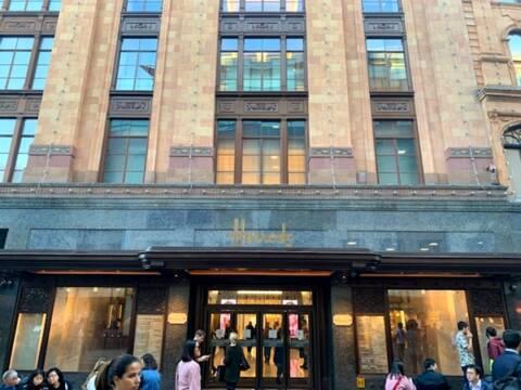 3 lojas de departamento em Londres