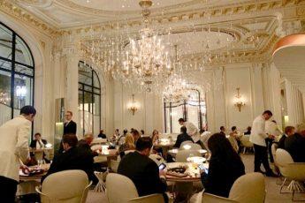Restaurante Alain Ducasse no Plaza Athénée