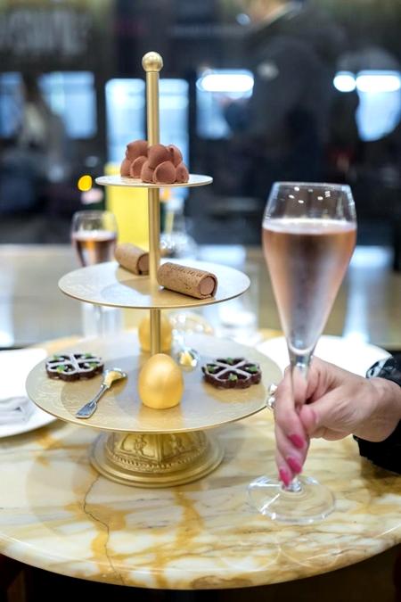bar de sobremesas - hotel Cafe Royal Londres