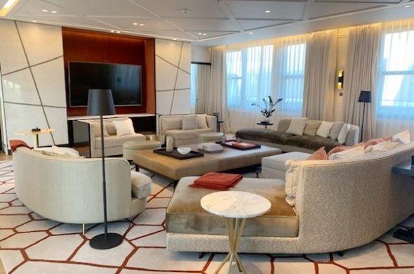 A maior suíte de hotel em Paris, no Mandarin Oriental