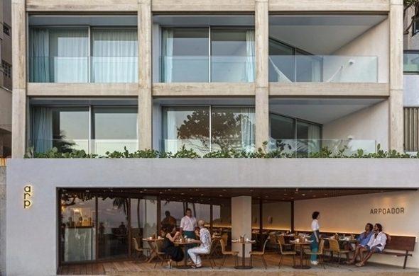 Hotel Arpoador - Rua Francisco Otaviano 177.