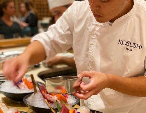 Restaurante Kosushi em Miami