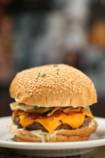 delivery de hambúrguer