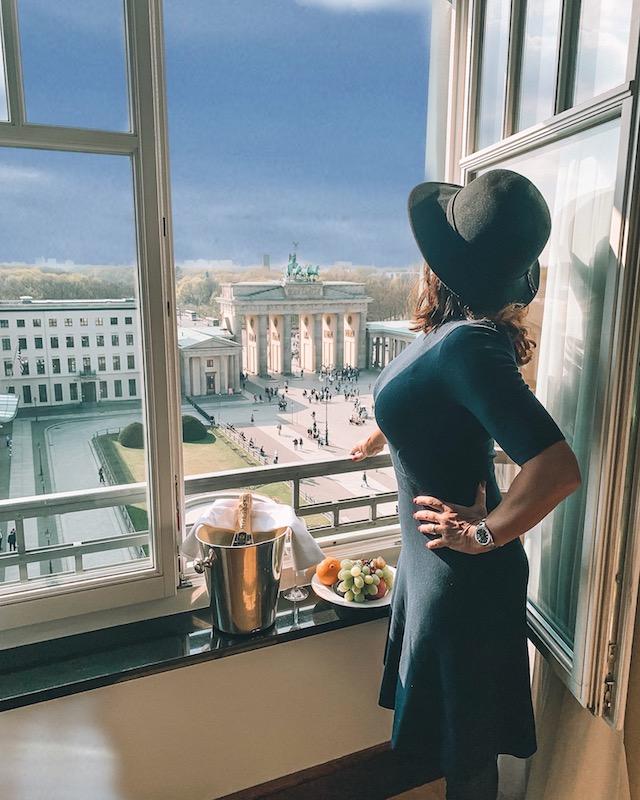 vistas de quartos de hotéis