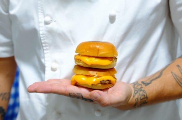 novo hambúrguer no Rio