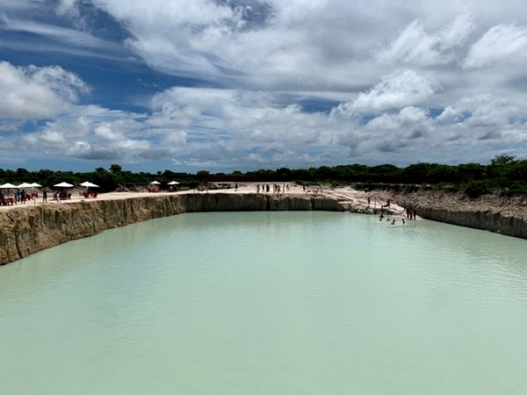 Buraco Azul   Passeios em Jericoacoara