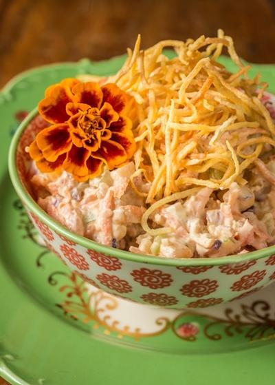 receitas veganas pela chef Tati Lund - salpicão