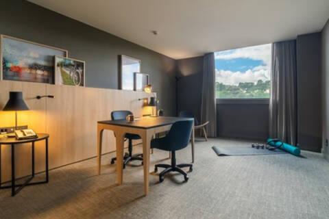 home office em hotel