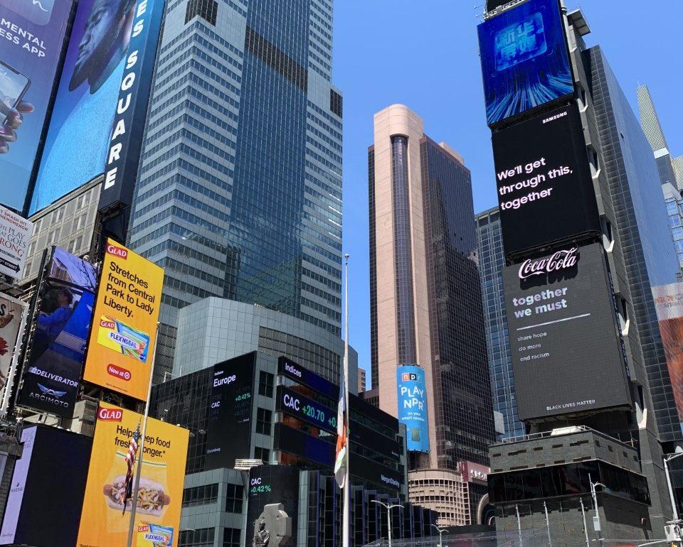 reabertura em nova york