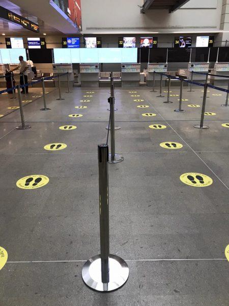 retomada de voos na Europa