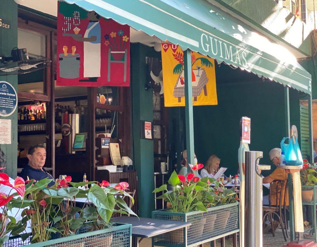 restaurantes no Rio com varanda