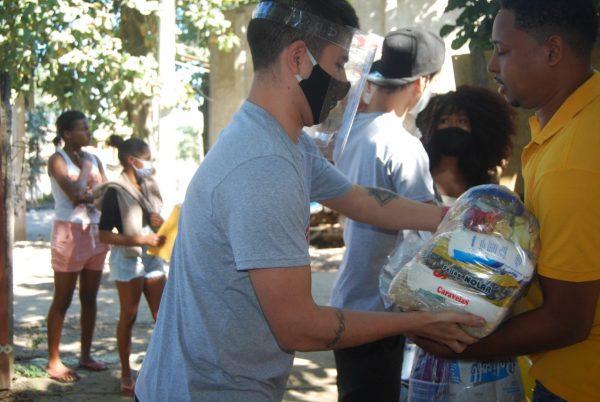 movimento voluntário no combate à pandemia