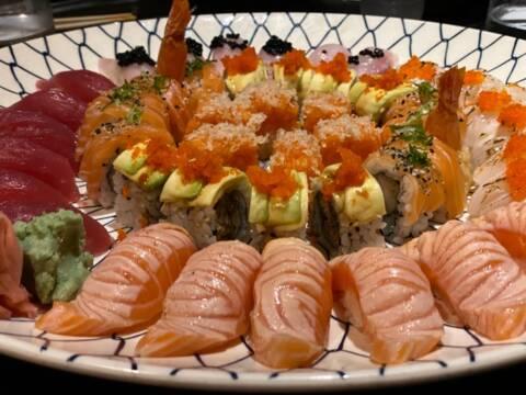 Combinado do restaurante Naga, uma das nossas sugestões de restaurantes na Barra