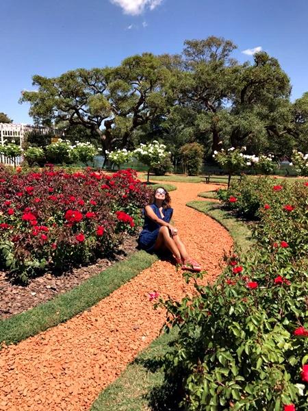 parque em buenos aires- primavera no hemisfério sul