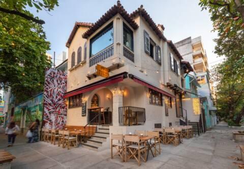 Maria e o Boi certamente é um dos melhores restaurantes com varanda em Ipanema