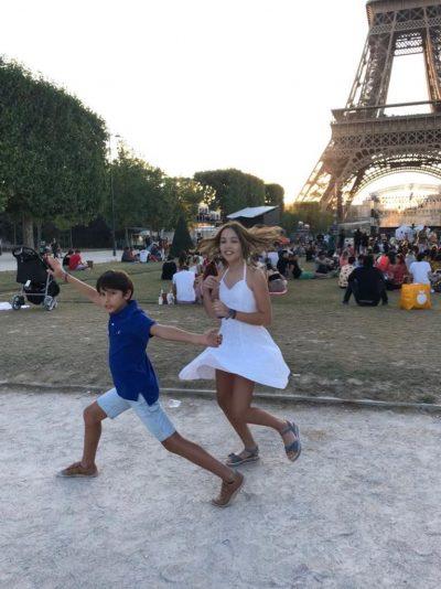 Filhos da Ana, do Vibre na Viagem em Paris