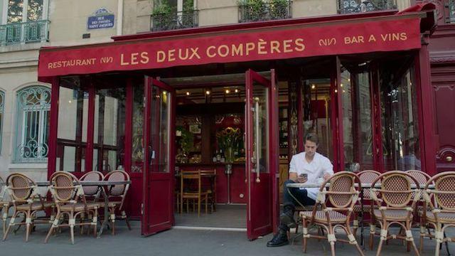 Restaurante da série passada em Paris