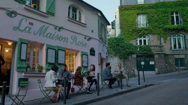 La Maison Rose - um dos cenários da nova série do Netflix em Paris