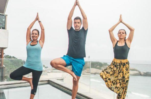 Yoga no Hotel Arpoador