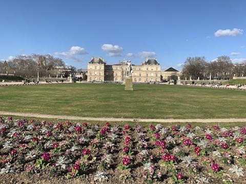 Os jardins de Louxembourg - locações de Emily in Paris