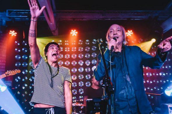 Milton Guedes e Erasmo Carlos - Foto Lu Mattos