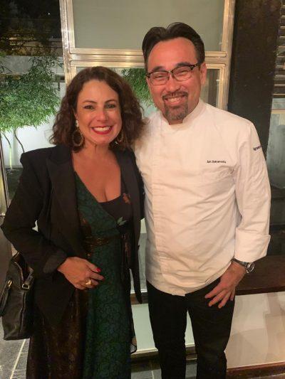 Chef com a Renata Araújo