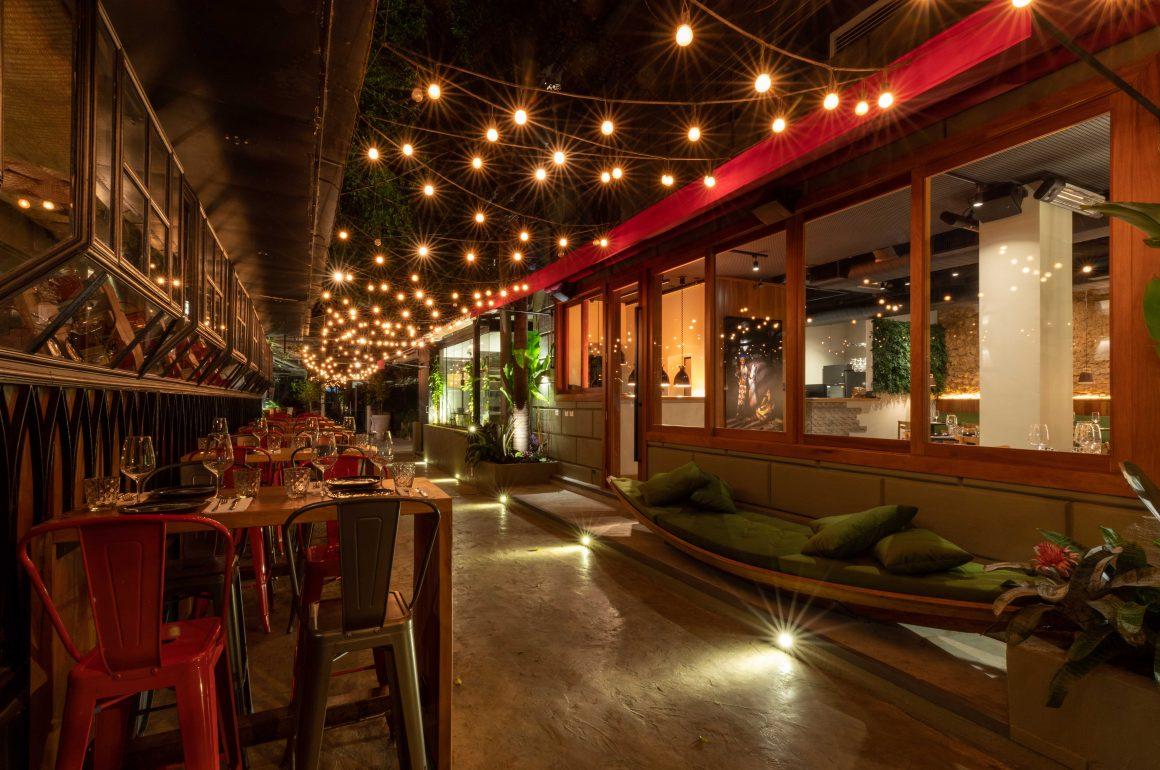 8 restaurantes ao ar livre em SP