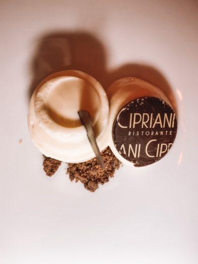 Sobremesas Cipriani