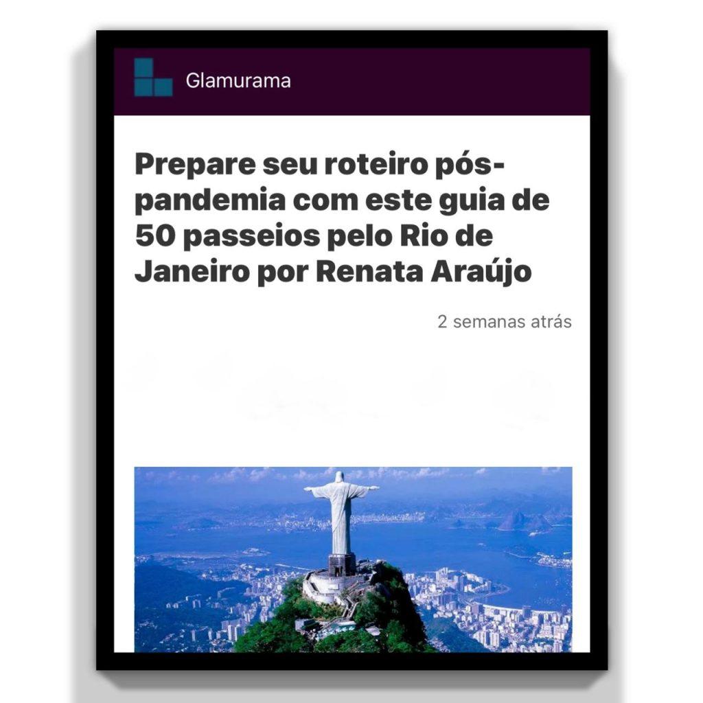 Livro sobre o Rio ganha destaque na mídia