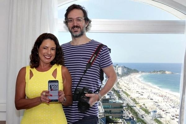 Tomás Rangel e Renata