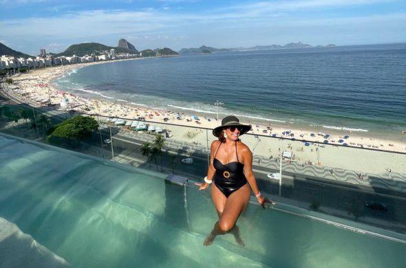 Hotel de luxo em Copacabana Emiliano Rio