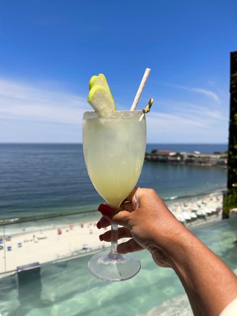 então, Hotel de luxo em Copacabana