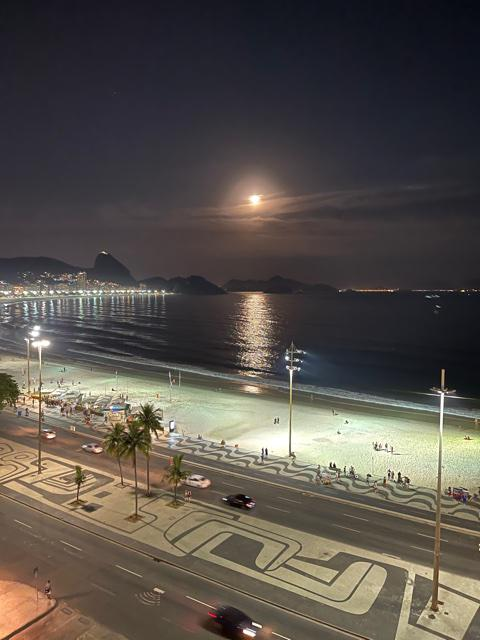 Hotel de luxo em Copacabana