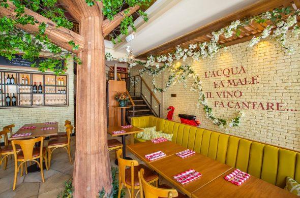 Locale Trattoria nova dica de restaurante italiano em SP