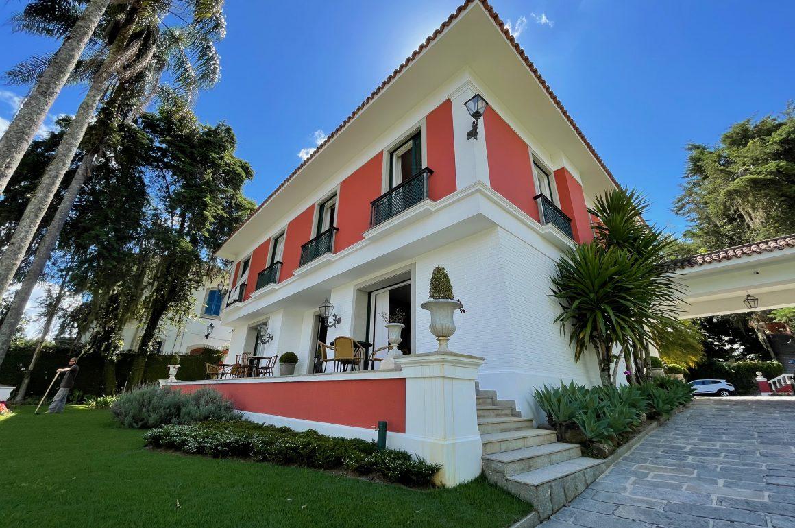 Hotel boutique em Petrópolis Reggia Catarina