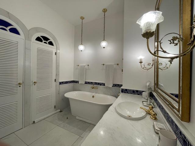 Banheiro da hospedagem