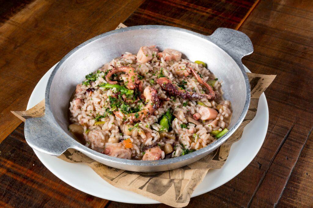 Arroz de Polvo- um dos pratos do menu de dia dos namorados