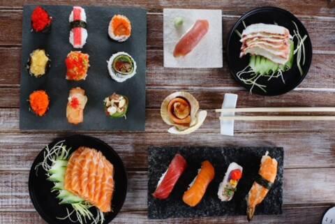 Menu do restaurante Tadashii para o dia dos namorados