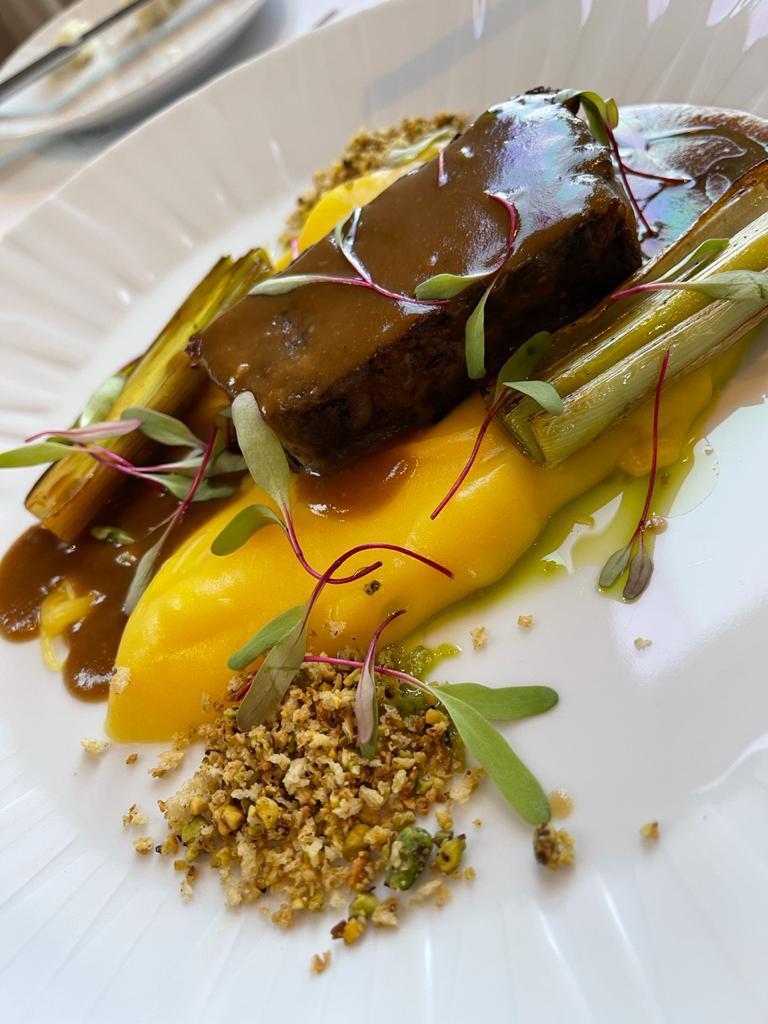 Sugestão do menu do restaurante Alloro Al Miramar