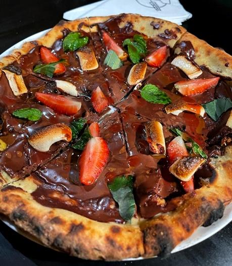 pizza doce - nova pizzaria em botafogo