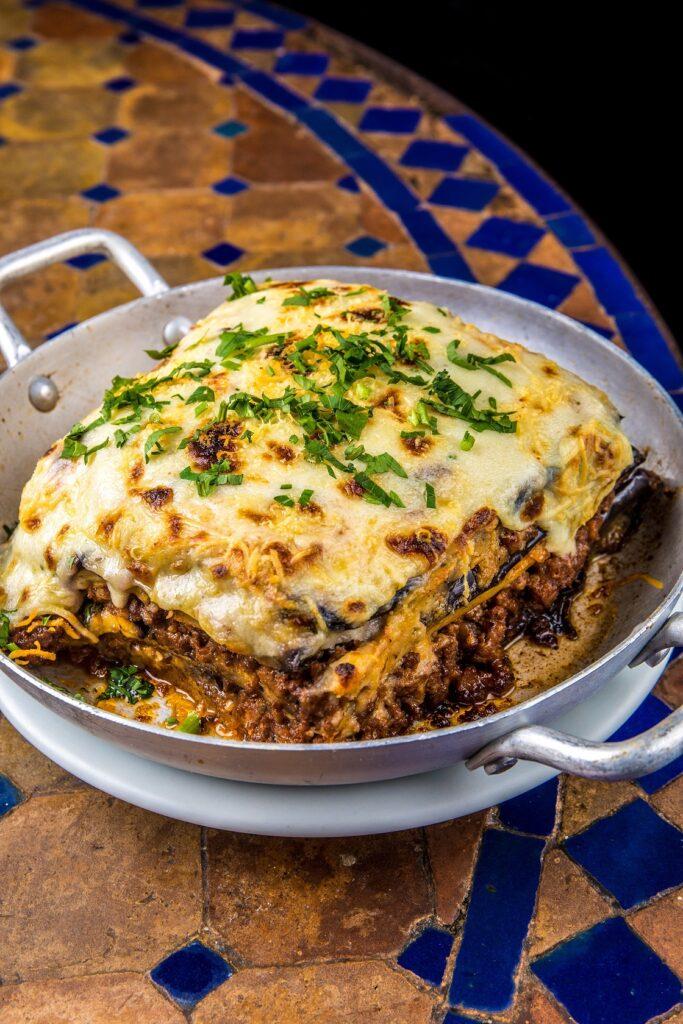 Moussaka- prato para o dia dos namorados