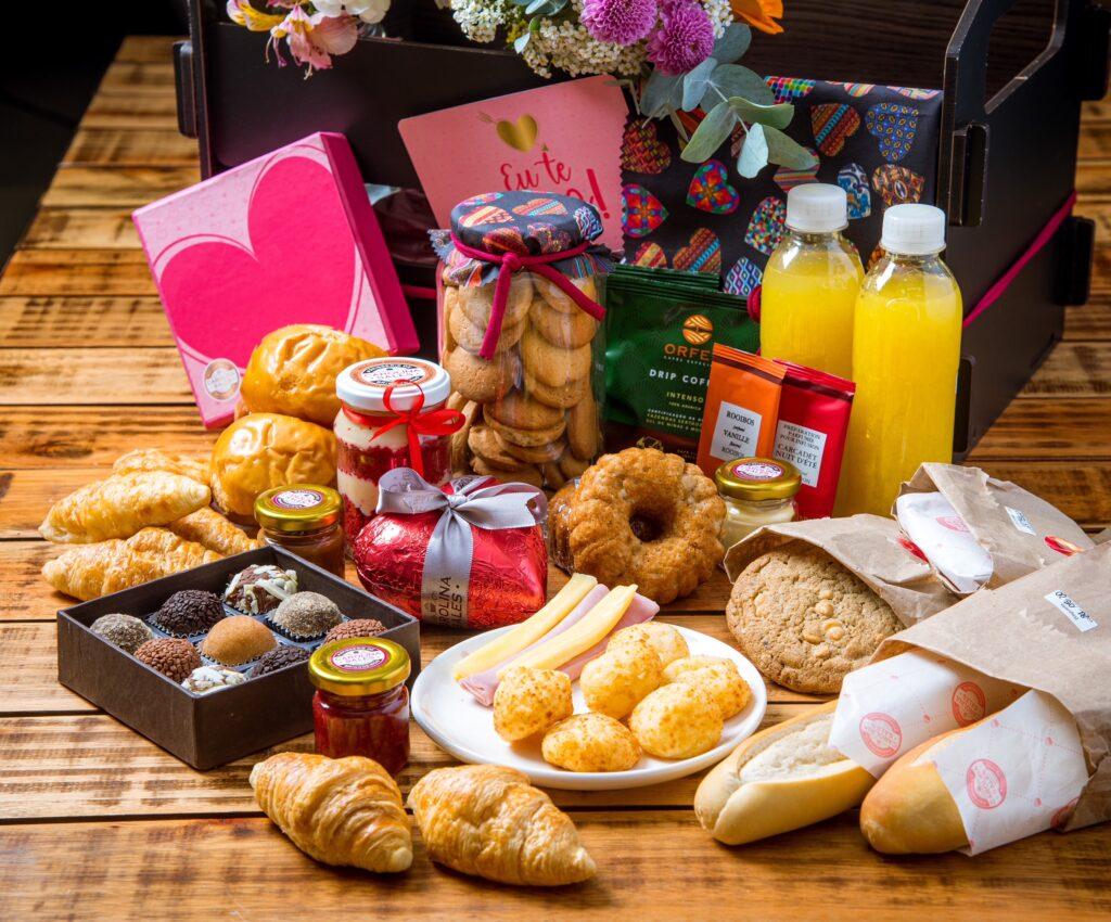 Cesta Carolina Sales, presentes gourmet para o dia dos namorados