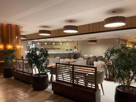 Novo ambiente do restaurante Limone de Cozinha mediterrânea