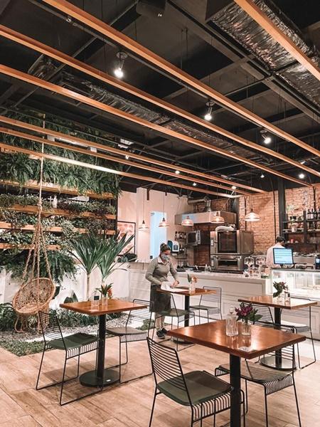 ambiente do nica café - padarias/cafés nos jardins