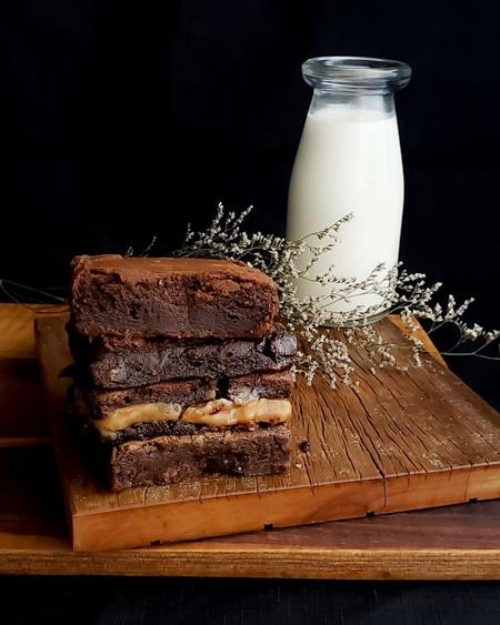 brownie para o dia do brigadeiro